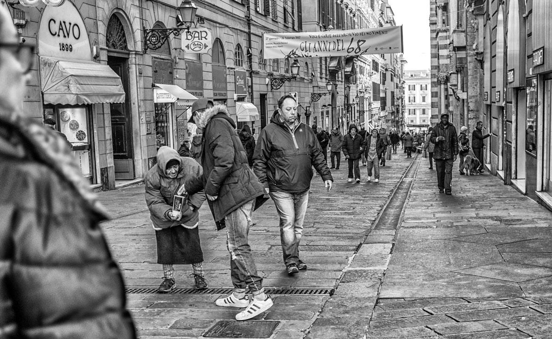 Via san Lorenzo Genova