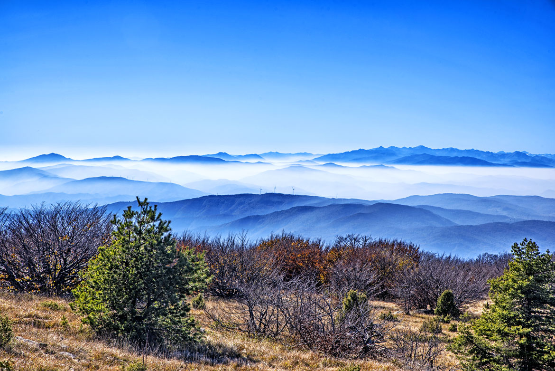Panoramica dal Beigua